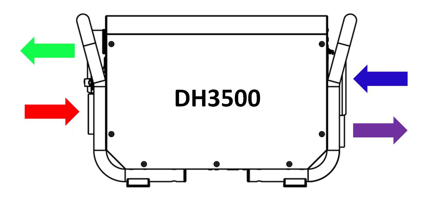 DH3500 3 hole and 4 hole systems