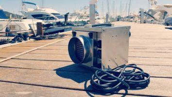dryfan boat dehumidifier