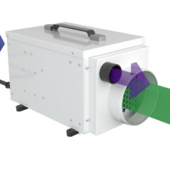 dehumidifier direction of airflow