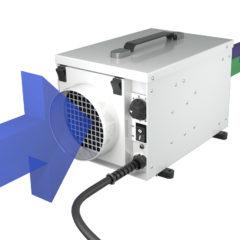 dehumidifier air flow