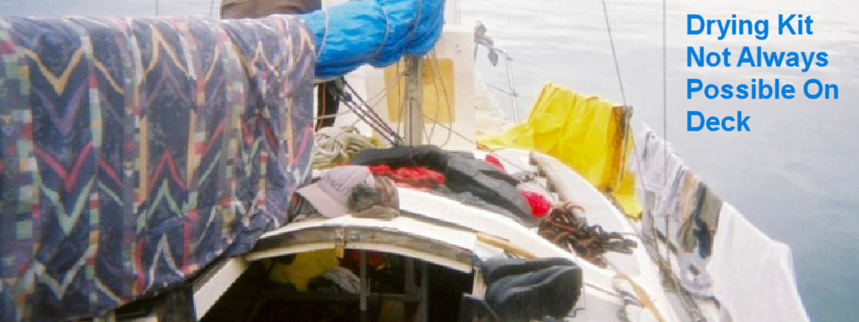 drying cloths dryboat