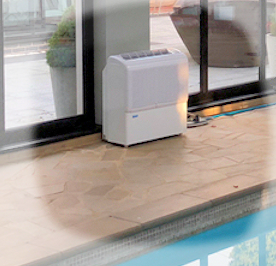 Ecor Pro D850 / D950 swimming pool dehumidifier www.buildingdryer.co.uk by Ecor Pro